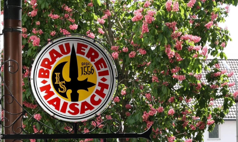 Brauerei Maisach - Schild
